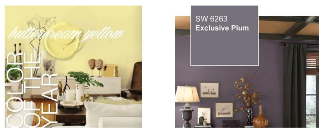 Paint Color of the Year - Sharper Impressions Painting