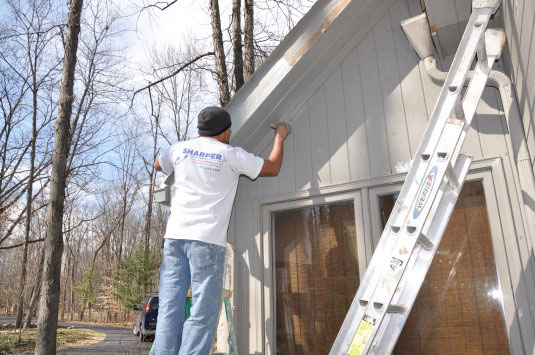 Wood Trim Painting Services