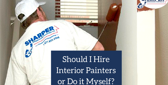 Home Interior Painting Should I Hire Interior Painters or Do It Myself?