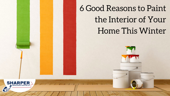 Why Interior Painting in the Winter is a Wonderful Idea