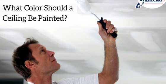 What Color Should a Ceiling Be Painted? Rules for Choosing Ceiling Paint Color