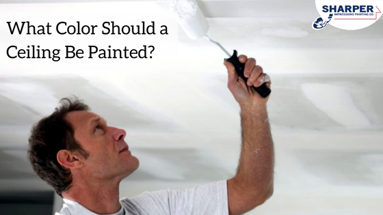 What Color Should A Ceiling Be Painted Rules For Choosing Paint