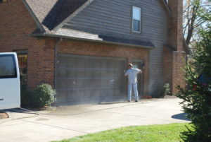 Exterior House Painting Garage