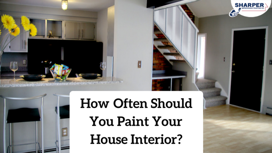 how often should you paint your house interior professional painters