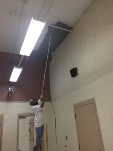 Commercial Dryfall Painting