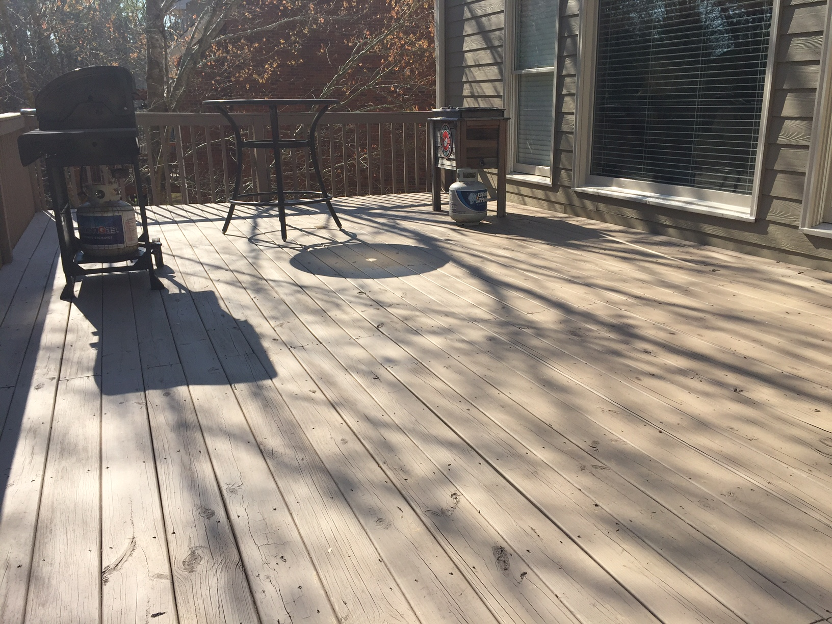 Deck Staining Upgrade After