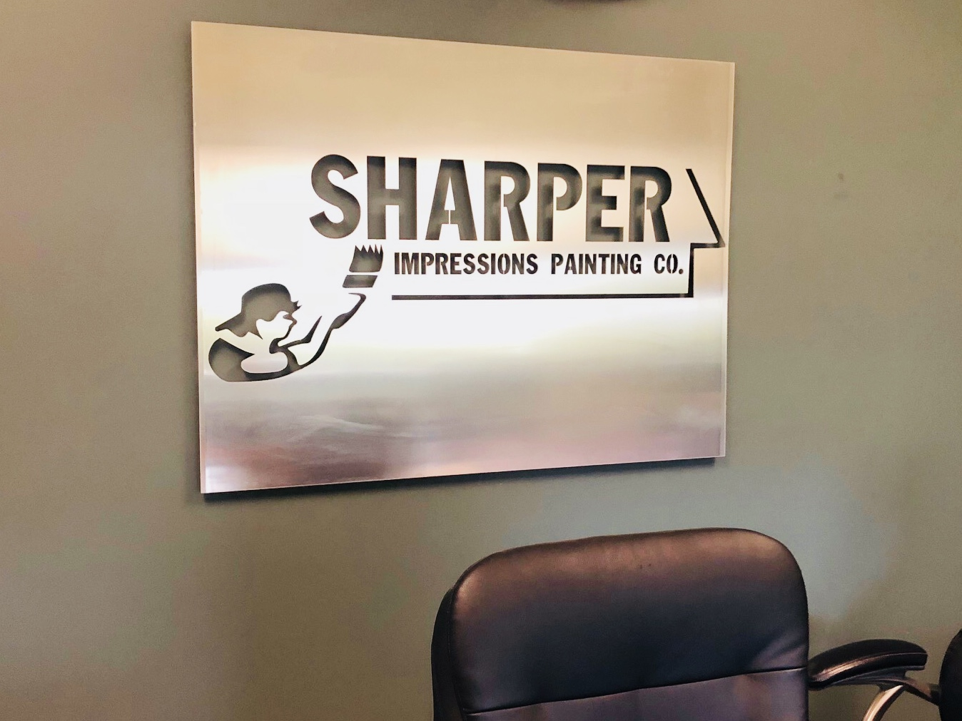 Sharper Impressions Sign