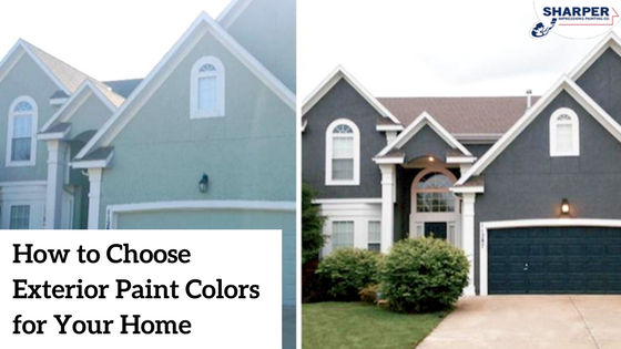 Awesome How To Choose Exterior Paint Colors Contemporary Decoration Design Ideas