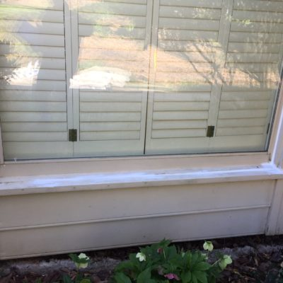 Wood Replacement of Rotted Window Sill