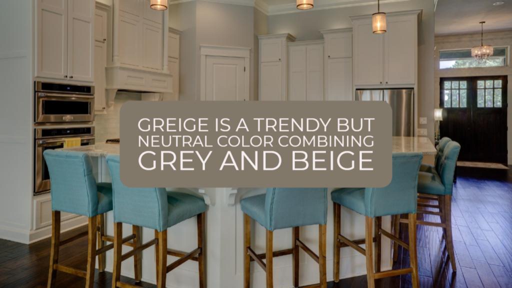 paint kitchen cabinets greige