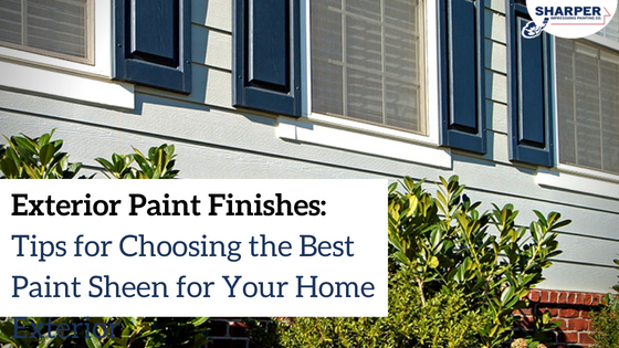 Exterior Paint Finishes How To Choose The Best Sheen For