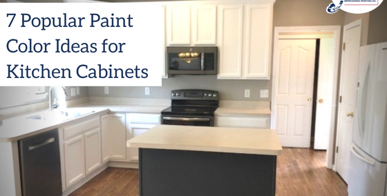 Painting Kitchen Cabinets 7 Popular Kitchen Cabinet Color Ideas