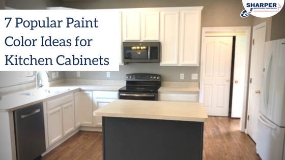 Painting Kitchen Cabinets: 7 Por Kitchen Cabinet Color Ideas on ideas for painting crown molding, ideas for painting kitchen islands, ideas for painting oak cabinets, ideas for painting windows, ideas for painting cabinet doors,