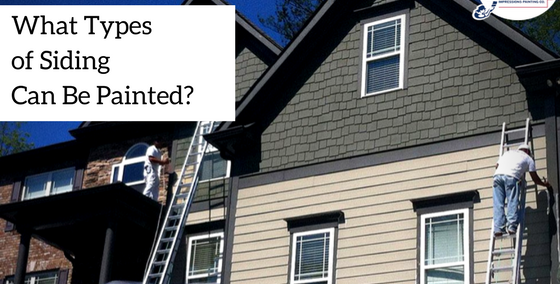 Painting Siding on a House: What Types of Siding Can Be Painted?