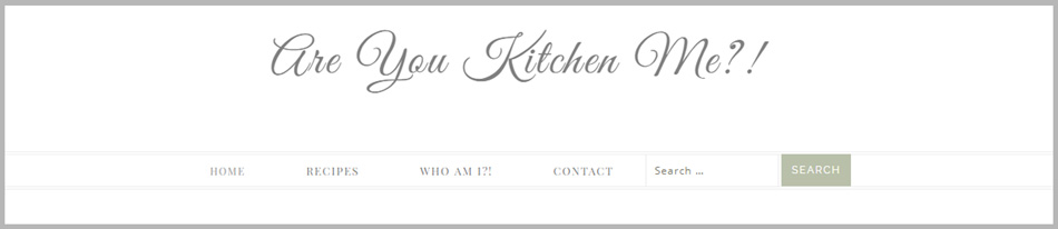 Are You Kitchen Me?