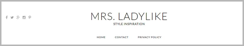 Mrs. Ladylike