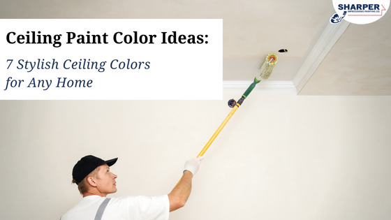 Ceiling Paint Color Ideas: 7 Stylish Ceiling Colors for Any Home