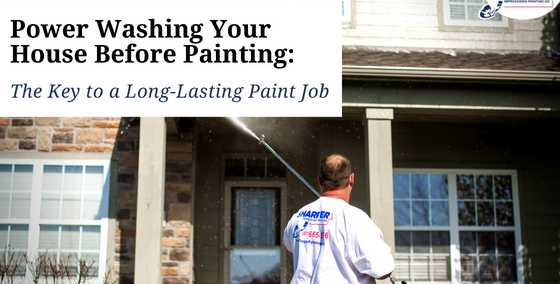 Power Washing Your House Before Painting Key to Long-Lasting Paint Job
