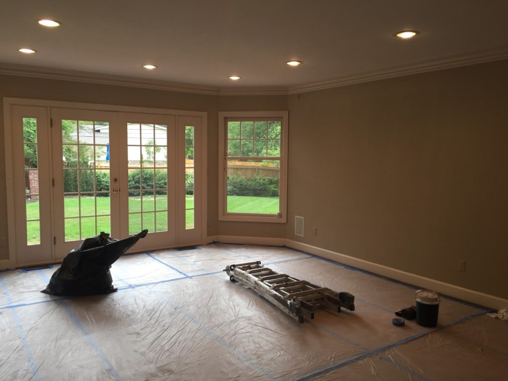 After Interior Painting in Overland Park