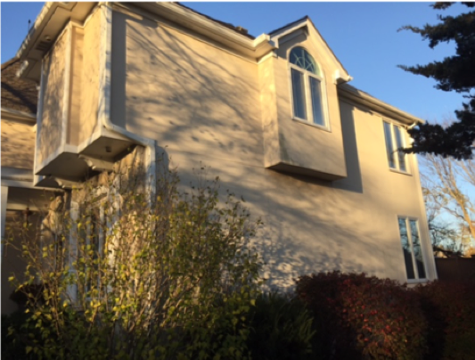 Before Exterior Painting Overland Park KS