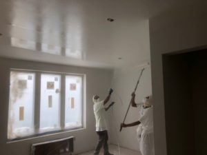 commercial apartment ceiling painting