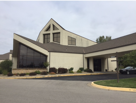 Commercial Painting Overland Park KS Church Before