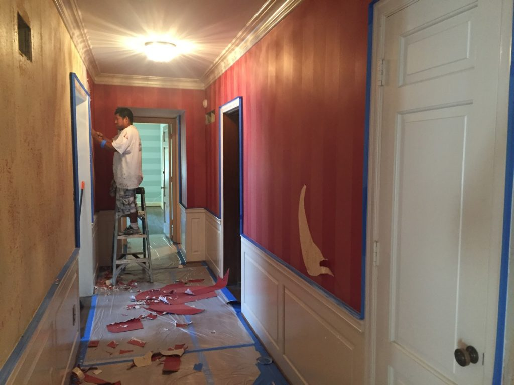 Interior House Painting Overland Park Stripping Wallpaper