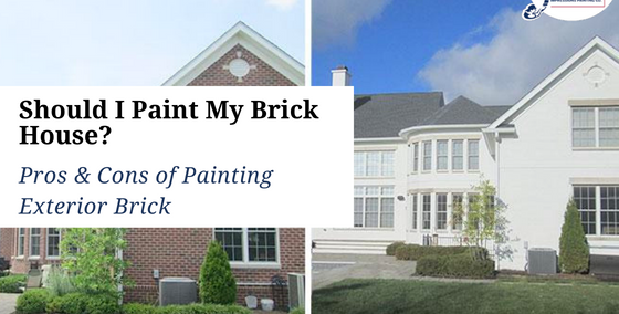 Should I Paint My Brick House Pros & Cons of Painting Exterior Brick