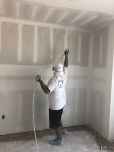 commercial building ceiling painting