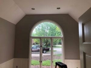 After Painting Around Window