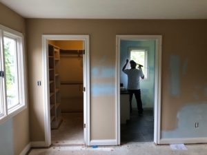 Before Painting Interior