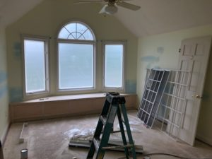 interior dining room paint before