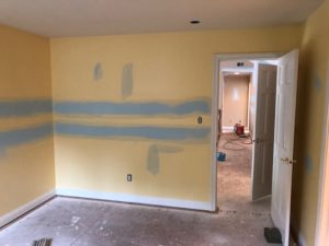 Interior Painting in Fishers Indiana Before