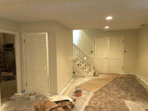 Preparing Area for Paint