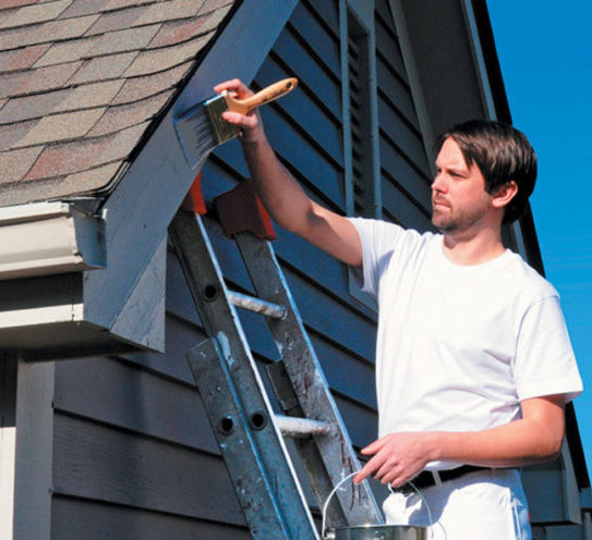 Exterior: Professional House Painting