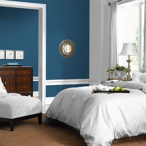 spring paint color trend - mountain lake