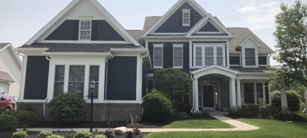 Exterior Residential Painting Indianapolis after photo