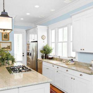 blue paint color for older homes