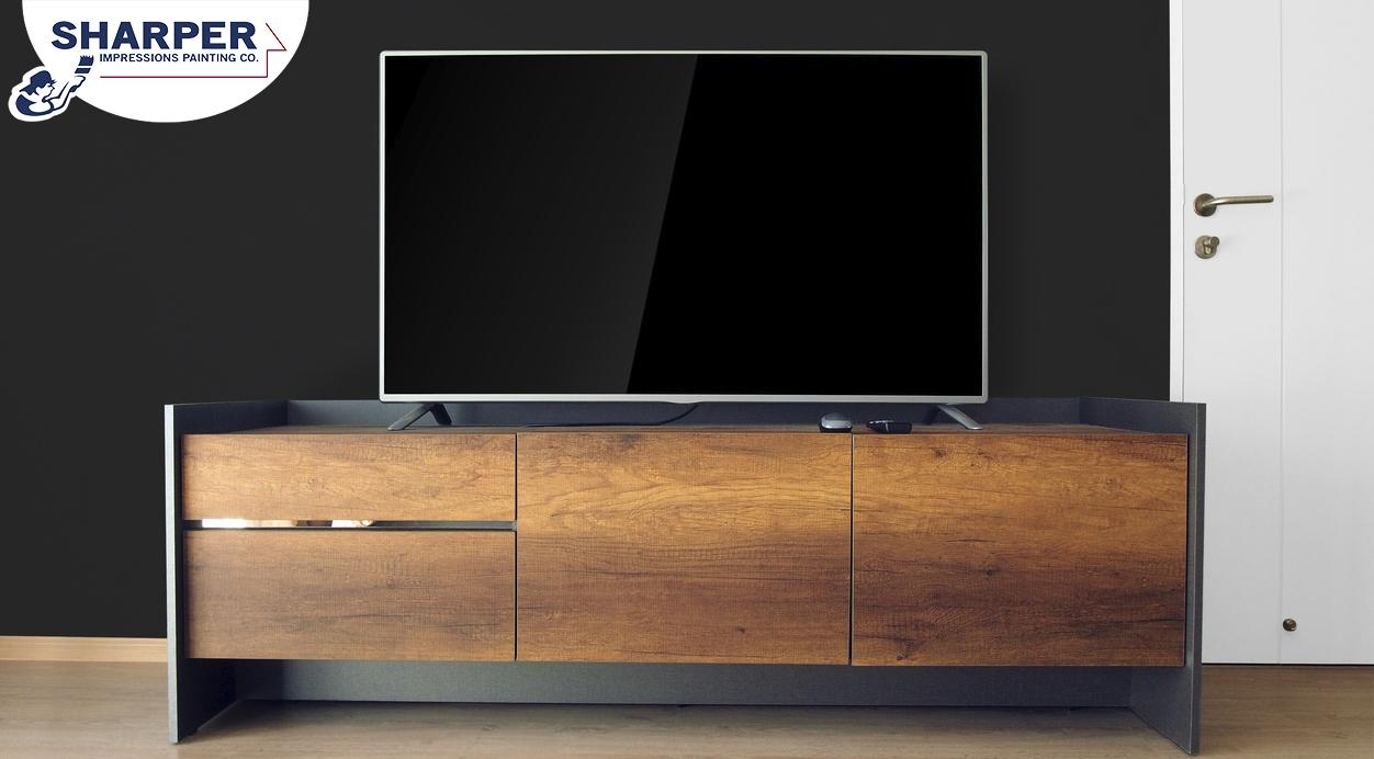 What Color Should I Paint The Wall Behind My Tv How To Choose A Wall Color For A Flat Screen Tv