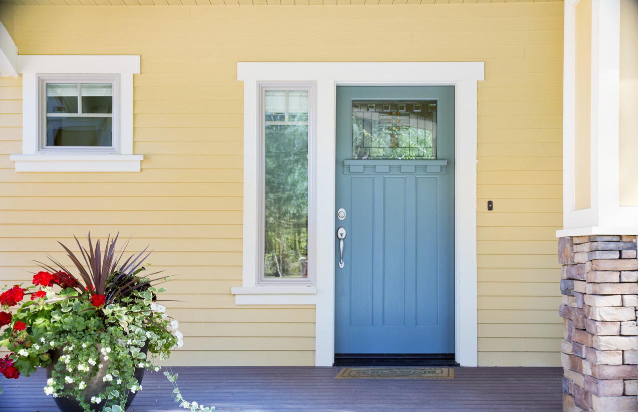 best paint color for front door