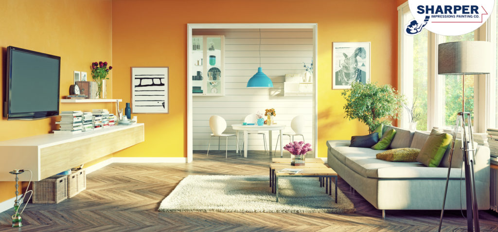 winter interior paint color trends yellow