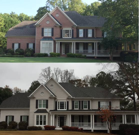 Brick Home Painting Overland Park