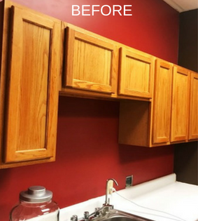 Best Paint For Kitchen Cabinets Kitchen Cabinet Paint Colors Before After