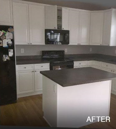 Kitchen Cabinets Painted White After